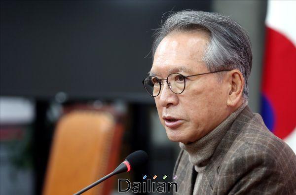 김형오 자유한국당 공천관리위원장(자료사진). ⓒ데일리안 박항구 기자