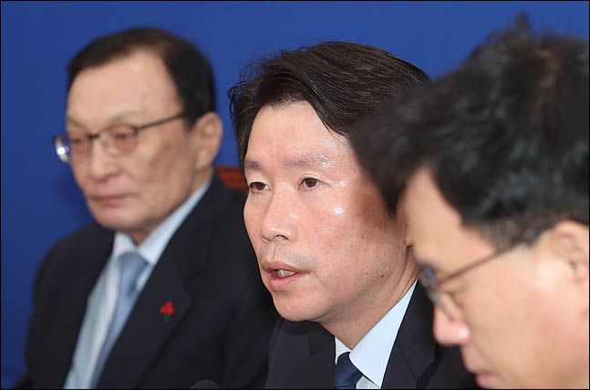 이인영 더불어민주당 원내대표 ⓒ데일리안 박항구 기자