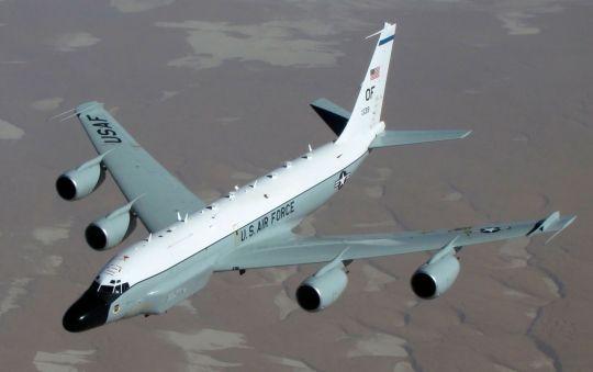 미 공군의 주력 통신감청 정찰기인 리벳조인트(RC-135W).ⓒ연합뉴스