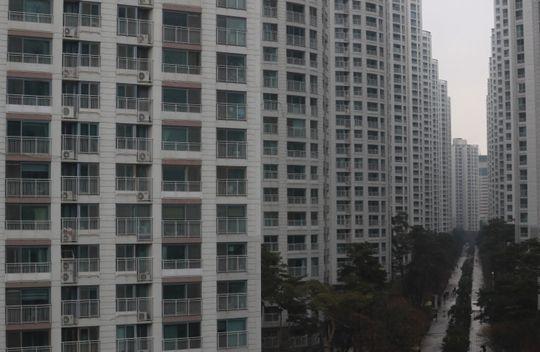 한 신도시의 아파트 단지 모습.ⓒ뉴시스