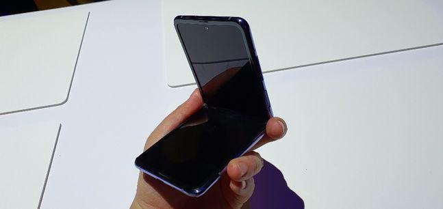 삼성전자 폴더블 스마트폰 '갤럭시Z 플립'.ⓒ데일리안 김은경 기자