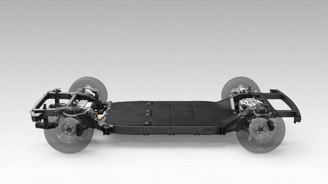 카누 개발 전기차 스케이트보드 플랫폼 ⓒ현대·기아자동차