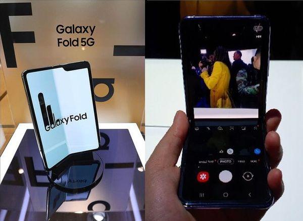 삼성전자 1세대 폴더블 스마트폰 '갤럭시폴드'(왼쪽)와 지난 11일(현지시간) 미국 샌프란시스코 팰리스 오브 파인 아트에서 열린 '갤럭시 언팩 2020'을 통해 공개된 클램셸 폴더블폰 '갤럭시Z 플립'.ⓒ데일리안