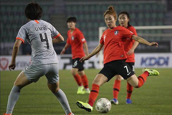 여자 대표팀은 지난해 12월 중국전에서 무승부를 기록한 바 있다. ⓒ 데일리안 류영주 기자