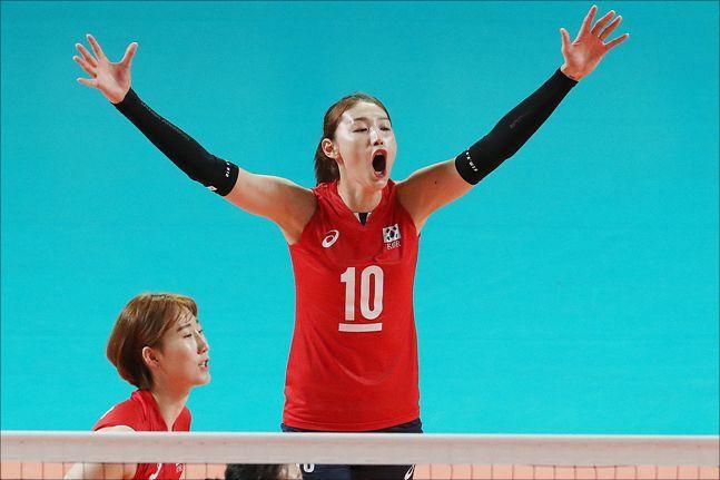 3회 연속 올림픽 본선 진출에 성공한 여자배구가 강호 브라질과 1차전을 치른다. ⓒ 데일리안 홍금표 기자