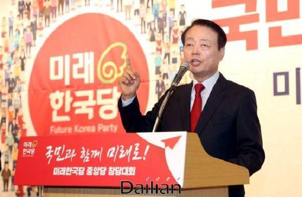 한선교 미래한국당 대표 ⓒ데일리안 박항구 기자