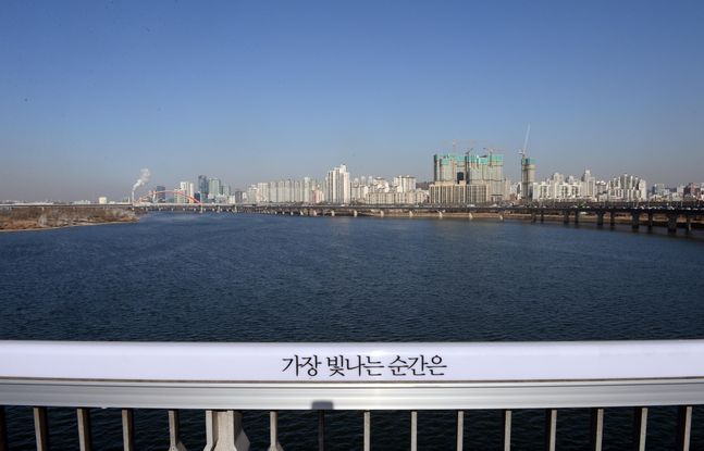 한강과 서울시내 모습.(자료사진) ⓒ뉴시스