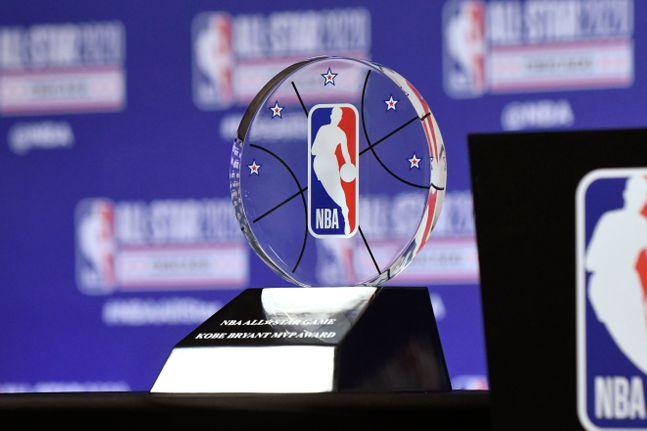 NBA 올스타 게임 코비 브라이언트 MVP 어워드. ⓒ 뉴시스