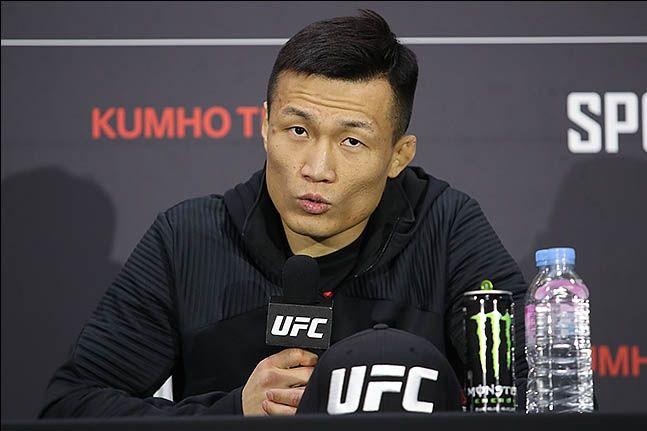 UFC 페더급 타이틀샷에 근접한 정찬성. ⓒ 데일리안 류영주 기자