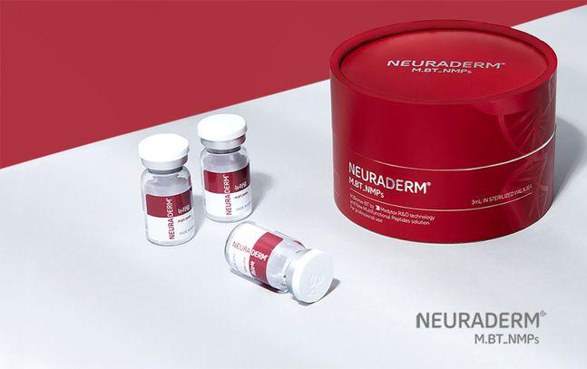 메디톡스가 자체 개발한 펩타이드 성분 '엠바이옴-비티(M.Biome-BT)' 기반의 신규 코스메슈티컬 브랜드 '뉴라덤'을 론칭한다. ⓒ메디톡스