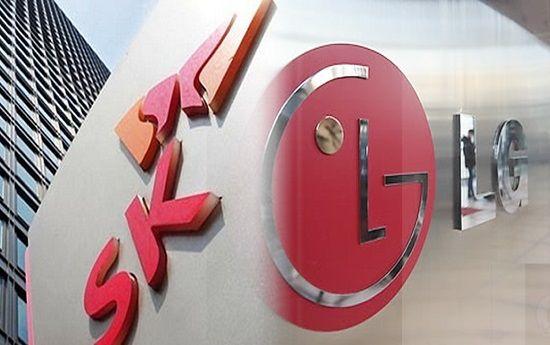 SK그룹과 LG그룹.ⓒ각 사