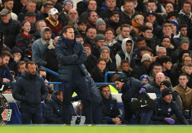 첼시는 다가올 토트넘전에서 패한다면 7위까지 떨어질 수 있다. ⓒ 뉴시스