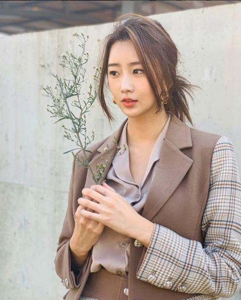 달샤벳 수빈이 최근 키이스트와 전속계약을 해지했다. 수빈 인스타그램 캡처.