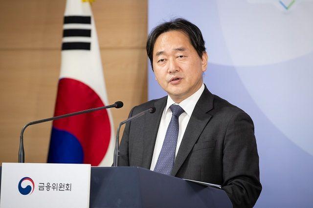 김태현 금융위원회 사무처장이 18일 정부서울청사 합동브리핑실에서 금융위 업무계획에 대해 설명하고 있다. ⓒ금융위원회