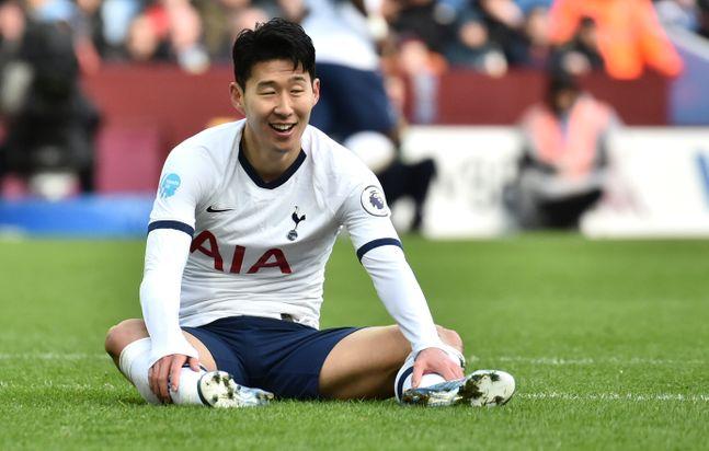 손흥민(토트넘)이 잉글랜드 프로축구 프리미어리그 26라운드 베스트 11에 올랐다. ⓒ 뉴시스