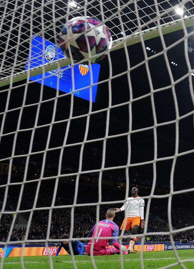 아탈란타는 산 시로에서 열린 발렌시아와의 홈경기서 4-1 대승을 거뒀다. ⓒ 뉴시스