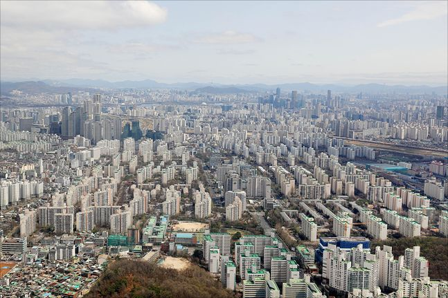 서울 아파트 단지 전경.ⓒ데일리안