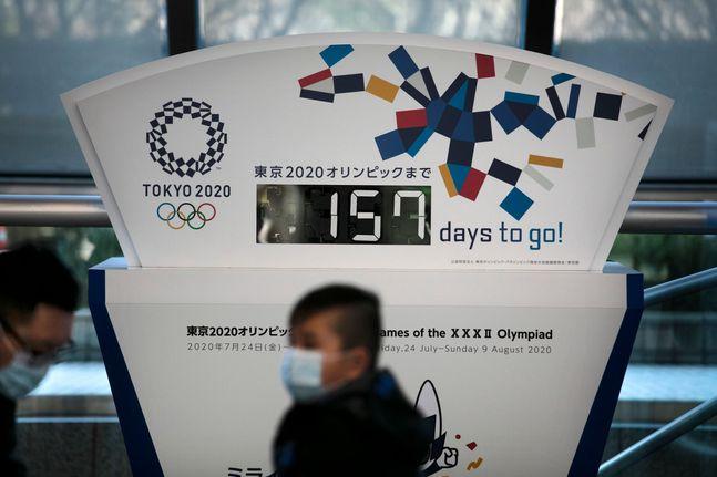 개막을 150여일 앞둔 도쿄 올림픽. ⓒ 뉴시스