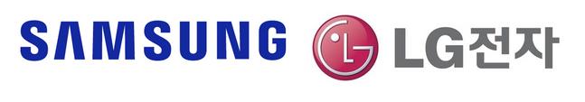 삼성전자(왼쪽)·LG전자 로고.ⓒ각 사