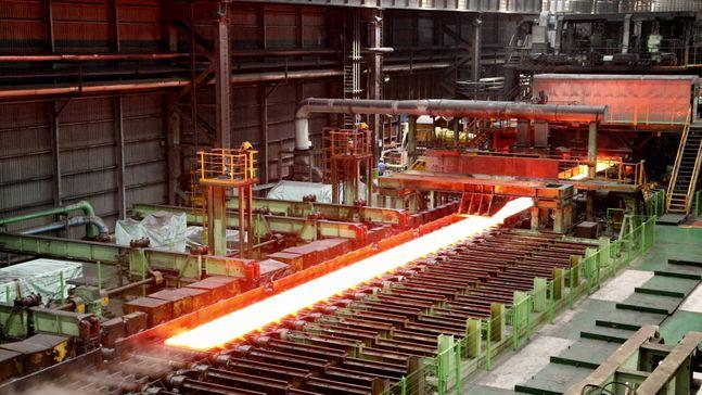 현대제철 당진제철소 냉연공장 내부 ⓒ현대제철