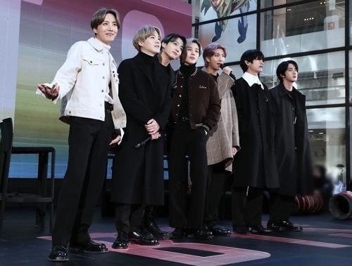 방탄소년단이 발매 첫날 265만장의 앨범 판매고를 기록했다. ⓒ 빅히트엔터테인먼트