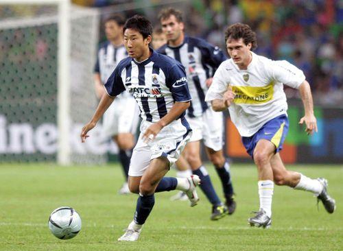 이천수는 한국인으로는 처음으로 스페인 무대에 진출했다.ⓒ 연합뉴스