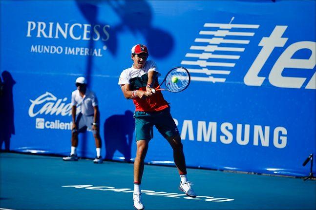 권순우가 ATP500 대회 8강에 진출했다. ⓒAbierto Mexicano Telcel