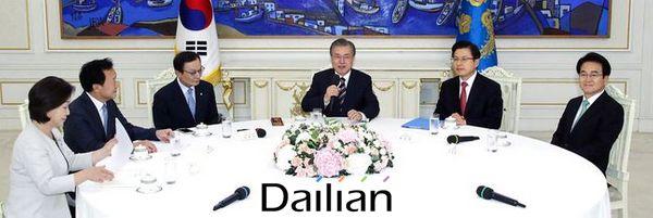 문재인 대통령이 지난해 7월 청와대에서 열린