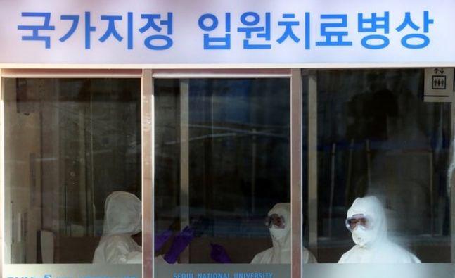 신종 코로나바이러스 감염증(코로나19) 완치 판정을 받았던 70대 여성이 퇴원 6일 만에 재확진 판정을 받았다.(자료 사진)ⓒ뉴시스