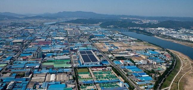 경북 구미 국가산업단지 전경.ⓒ뉴시스