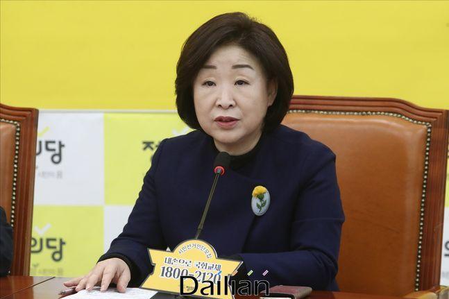 정의당 심상정 대표 ⓒ데일리안 박항구 기자