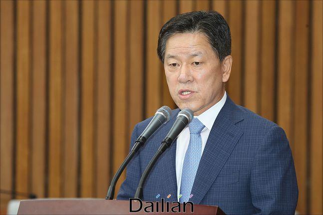 주승용 국회부의장은 10일 총선 불출마를 선언했다. 그는 전남 여수을에서 내리 4선을 했다. ⓒ데일리안 홍금표 기자