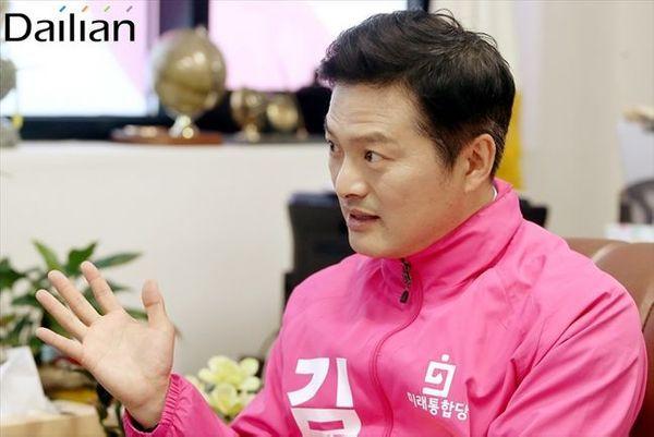 서울 강서을에 출마한 김태우 미래통합당 후보 ⓒ데일리안 홍금표 기자