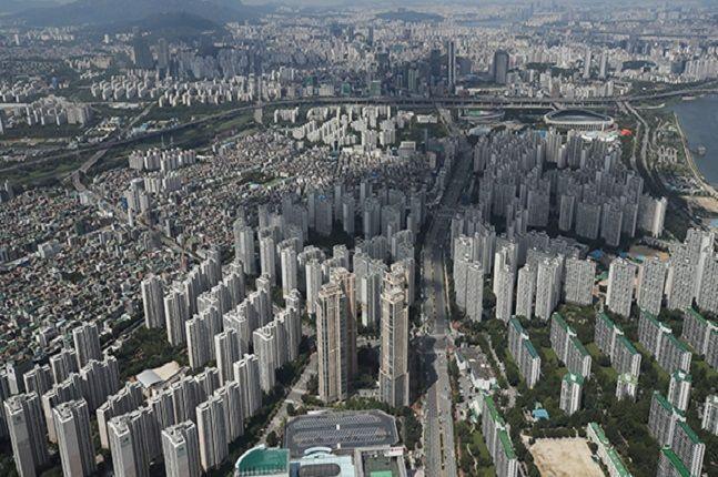 서울의 아파트 단지 전경.ⓒ연합뉴스