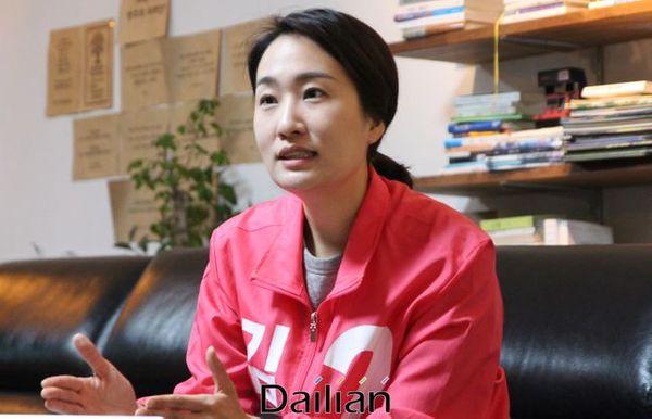 김수민 청주청원 미래통합당 예비후보. ⓒ청주(충북)=데일리안 정도원 기자
