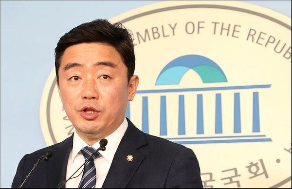 충남 아산을에서 재선을 노리는 강훈식 더불어민주당 의원(자료사진). ⓒ데일리안 박항구 기자