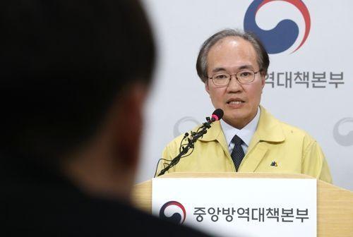 권준욱 중앙방역대책부본부장(자료사진) ⓒ연합뉴스