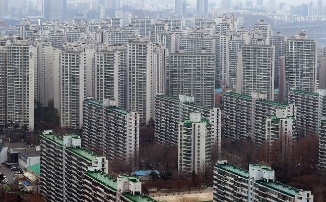 서울의 한 아파트 밀집지역 모습. ⓒ뉴시스