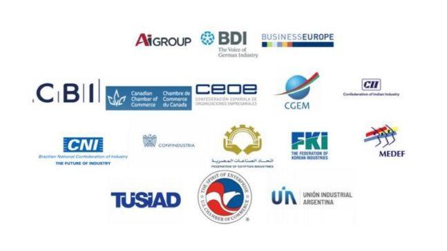 세계경제단체연합(GBC) 회원사들 로고.ⓒ전국경제인연합회