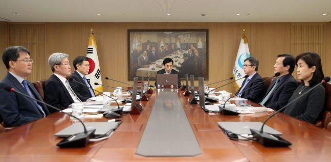 서울 중구 한국은행에서 금융통화위원회 회의가 진행되고 있다.ⓒ한국은행