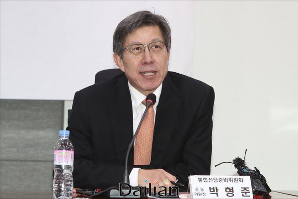 박형준 미래통합당 공동선대위원장 (자료사진) ⓒ데일리안 홍금표 기자