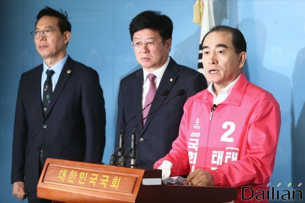 태영호 미래통합당 서울 강남갑 후보 (자료사진) ⓒ데일리안 홍금표 기자