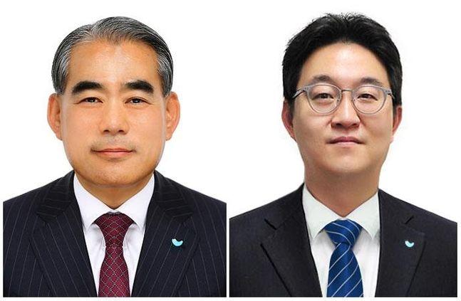 (왼쪽)황종현 SPC삼립 대표이사와 (오른쪽)안지용 SPC GFS 대표이사 ⓒ각 사 제공