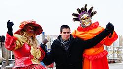 물의 도시 베네치아 가면축제 '동화 같은 풍경'