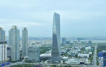 [르포]수요공급학의 역습...포스코건설 '동북아무역센터'