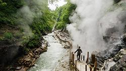 '오야스쿄 협곡' 숲과 온천의 마법에 빠지다