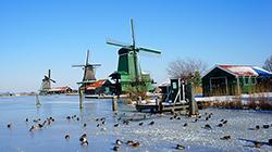 동화 속 그림 같은 풍차마을, 네덜란드 잔세스칸스