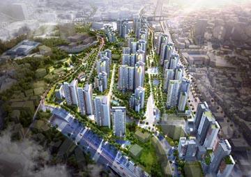 전통·현대미 어우러진 도심 랜드마크  GS건설 '경희궁자이'