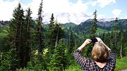 미서부 대자연을 느끼다 '레이니어 산 국립공원'