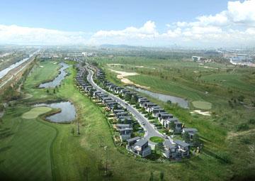 [르포]고급주택이 골프장 안에 '청라 골프빌리지를 가다'